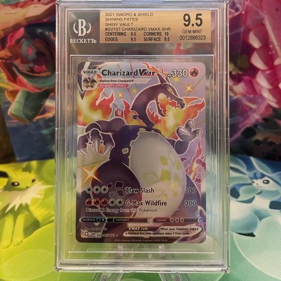 Pokémon Shining Fates Shiny Charizard VMAX BGS 9.5
